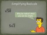 Simplifying Radicals (HSN.RN.N.A.2)