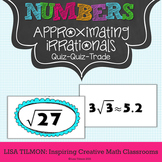 Approximating Irrational Numbers Quiz Quiz Trade Activity