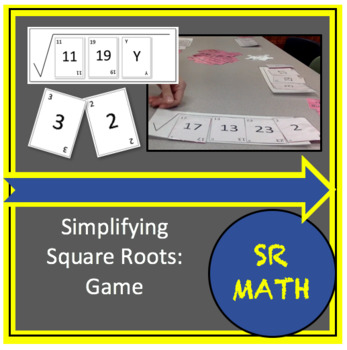 Simplifying Radicals Game, Simplifying Square Roots Game