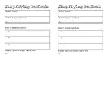 Simplifying Radicals INB Notes
