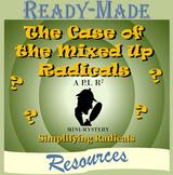 Simplifying Radicals Mystery Activity (Logic Puzzle)