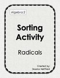 Radicals Activity: Sort