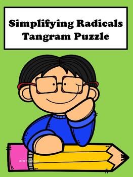 Simplifying Radicals Tangram