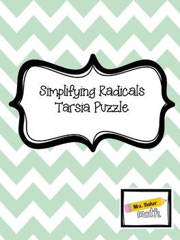 Simplifying Radicals Tarsia Puzzle
