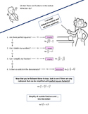 Simplifying Radicals with Fractions Cheat Sheet