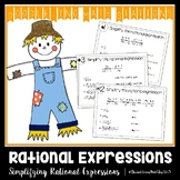 Simplifying Rational Expressions Doodle-ing Math Stations