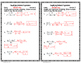 Simplifying Rational Expressions Level 1 Fluency Check  :N