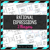 Simplifying Rational Expressions Maze
