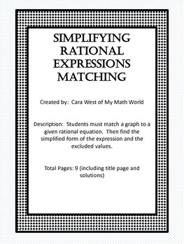 Simplifying Rational Expressions