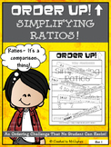 Simplifying Ratios - Order Up! Set 1