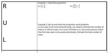Simplifying Ratios and Solving Proportions Lesson Plan Bundle