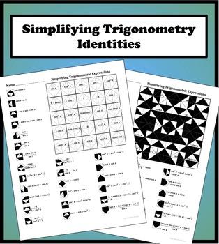 Simplifying Trigonometric E... by Aric Thomas | Teachers Pay Teachers