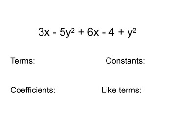 Simplifying Variable Expressions Using the Distributive Property