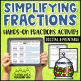 Simplifying Fractions Activity