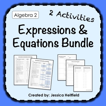 Simplifying and Solving Activities Bundle: Fix Common Mistakes!