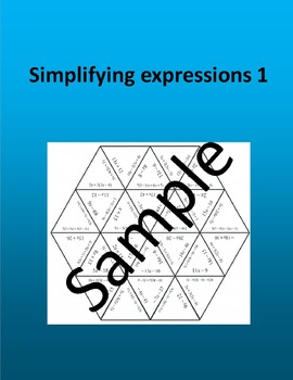Simplifying expressions 1 – Math puzzle