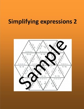 Simplifying expressions 2 – Math puzzle