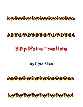 Simplifying or Reducing Fractions