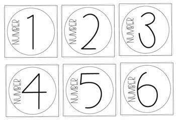 Simplistic Classroom Design Set