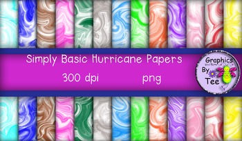 Simply Basic Hurricane Papers