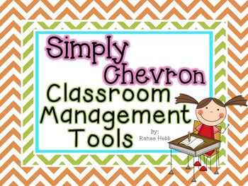 Simply Chevron Classroom Management Tools