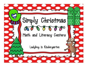 Simply Christmas Math and Literacy Unit