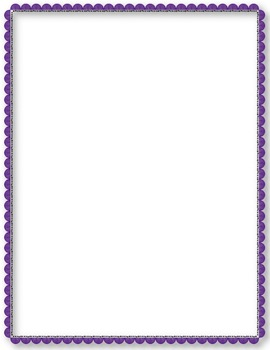 Simply Colorful Frames and Borders ~ Clip Art ~ Bright