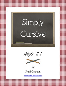 Simply Cursive: Style #1