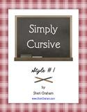 Simply Cursive: Style #1