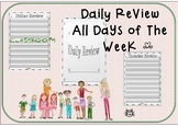 Simply Designed Daily Review Day By day