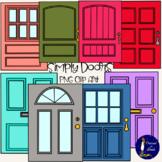 Simply Doors Clip Art