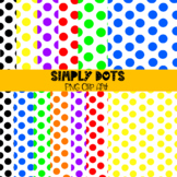 Simply Dots Digital Paper