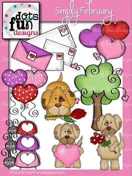 Simply February ~Dots of Fun Designs~