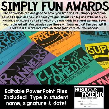 Simply Fun End of the Year Awards
