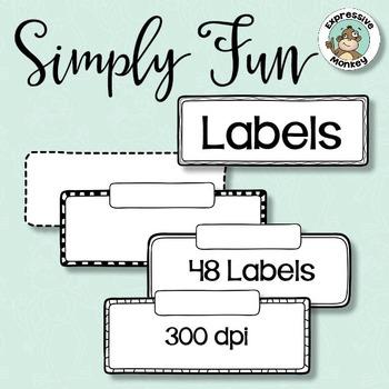 Simply Fun Labels
