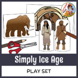 Simply Ice Age Play Set - Craft, Paper Dolls, Diorama