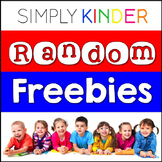 Free Downloads for Kindergarten