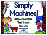 Simply Machines! | Simple Machines Task Card Activity Pack