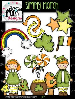 Simply March: St. Patrick's Day ~Dots of Fun Designs~