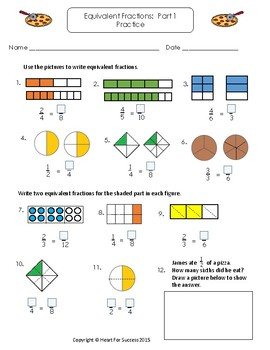 Simply Math Fractions Set 2