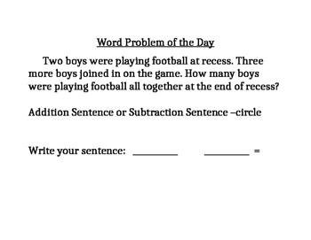 Simply Math Word Problems