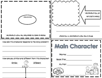Reading Response to  Literature Activities (Second & Third): Simply Mini Books