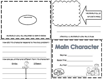 Reading Response to Literature Mini Books: Freebie
