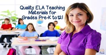 Simply Novel Spring 2016 ELA Catalog featuring TpT Teacher/Sellers