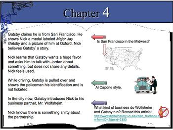 The Great Gatsby ~ Common Core Aligned Novel Unit