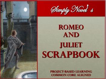 Romeo and Juliet Scrapbook Activity~ Common Core Aligned