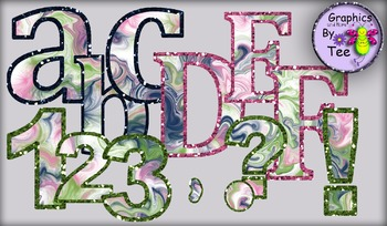 Simply Pretty Hurricane Letters and Numbers