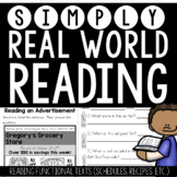 Simply Real World Reading (Functional Text)
