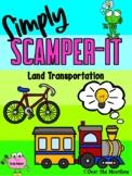 Simply SCAMPER-IT | Land Transportation | GATE | Critical