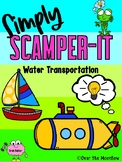 Simply SCAMPER-IT | Water Transportation | GATE | Critical